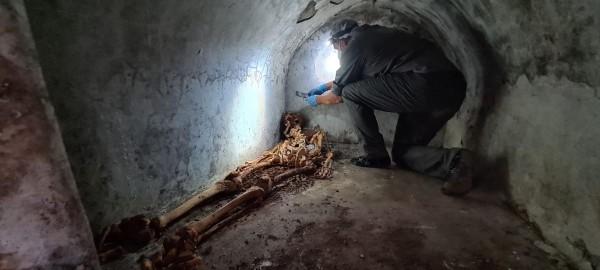 Rinvenuta a Porta Sarno la tomba di Marcus Venerius Secundio con resti umani mummificati