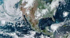 NASA Earth Observatory image by Lauren Dauphin, using GOES 16 imagery courtesy of NOAA and the National Environmental Satellite, Data, and Information Service (NESDIS).