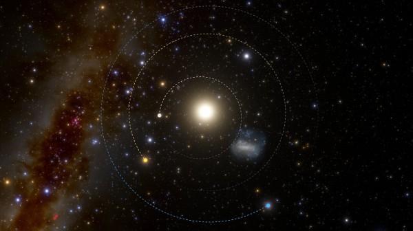 The unusually short orbit of 2021 PH27 (no annotations)