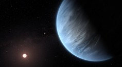 An Artist's Impression of the Exoplanet K2-18B