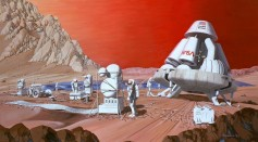 Growing Plants on Mars Would Be Impossible Due to Cosmic Radiation Exposure Rather Than the Soil