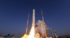 South Korea's First Space Rocket Under Test