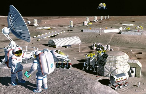 Science Times - Robots Developed to Perform Mining Works on the Moon, Giving Astronauts More Time to Focus on More Crucial Space Mission