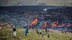 Science Times - Volcanic Eruption in Iceland on Its 6th Month Tomorrow, the Longest in More Than Half a Century