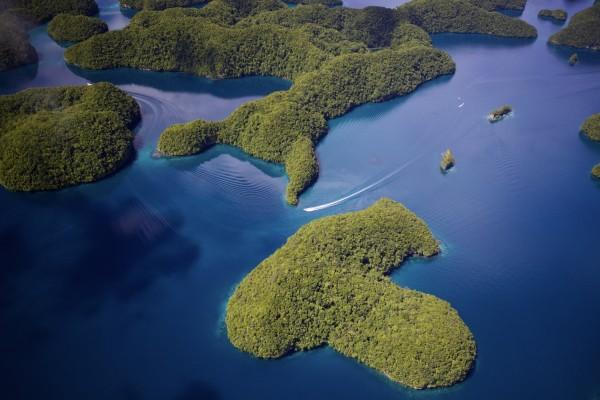 The Rock Islands of Palau