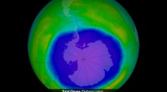 Science Time - Ozone Hole Forming Each Year Over South Pole Presently Larger Than Entire Antarctica; Report Says It's Due to Depletion