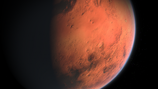 Mars-Sized Planet Might Be Lurking in Trans-Neptunian Space of the Solar System as Hinted by Computer Simulations