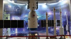 China's Next-Generation Crewed Spacecraft Launched on Long March 5B Rocket Now on Display in Guangdong Province