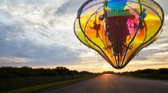 Jellyfish Capsules Launched to Stratosphere; Project Aimed for Artistic Commercial Flights