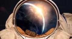 Astronaut-sunrise