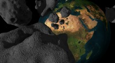 Massive Asteroids, Comets Once Bombarded Earth That Altered Oxygen Levels in the Atmosphere
