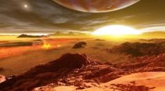 Artist Rendition of Exoplanet