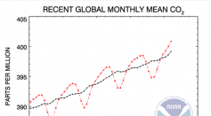 NOAA Says CO2 Has Passed Its Mark