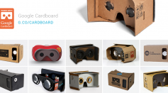 a variety of Google Cardboard shows its simplicity and basic materials that was used