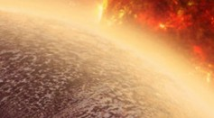 GJ 1132b's image from space, a new Earth like planet with an atmosphere