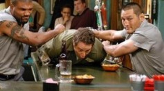 Not all people who usually gets involved in bar brawls after consumption of alcohol are alcoholic