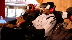 NBA player Brandon Ingram attends The Night Before, A Samsung VR Experience at The Grove on December 10, 2016 in Los Angeles, California.