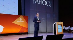 VP, Display & Video Ad Products Yahoo Tod Sacerdoti speaks onstage at the The Next Era of Programmatic panel on the Times Center Stage during 2016 Advertising Week New York on September 28, 2016.