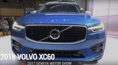 2018 Volvo XC60 | 2017 Geneva Motor Show
