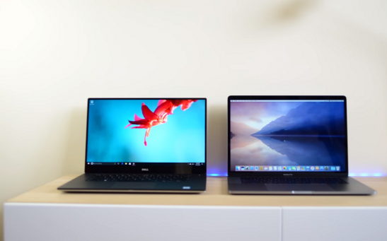 MacBook Pro 15 v XPS 15 Screen Comparison