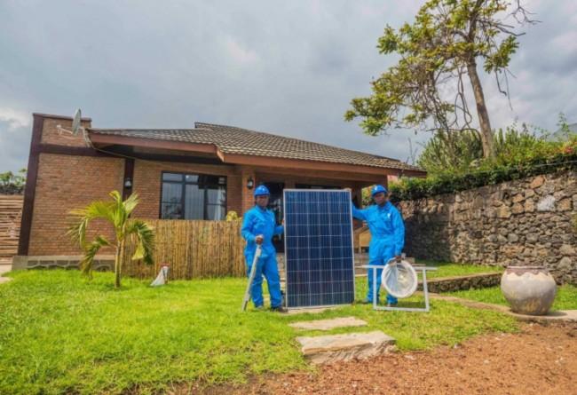 Off-grid solutions solar panel