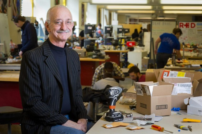 Dr. Woodie Flowers was the main proponent for the FIRST Robotics Competition, which inspired thousands of youth to pursue careers in science and technology.