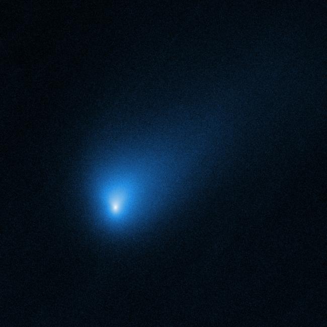 Hubble's view of interstellar comet 2I/Borisov, 260 million miles from Earth.