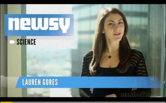 Newsy Science Anchor Lauren Gores