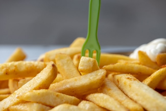 Deep-Fried Potatoes