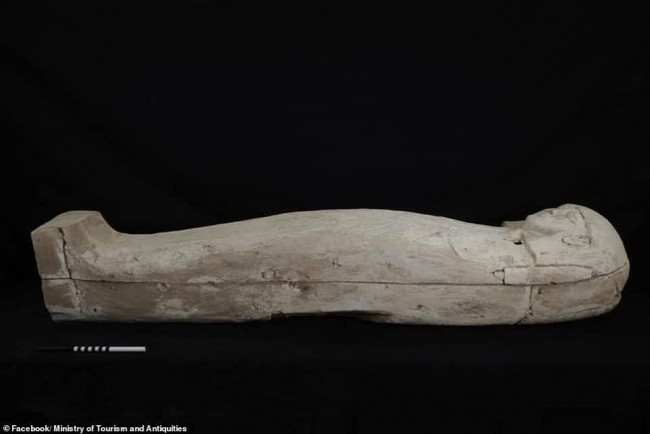 Mummified Remains of a Bejeweled Teenager Found Inside a 3,500-Year Old Coffin in Egypt