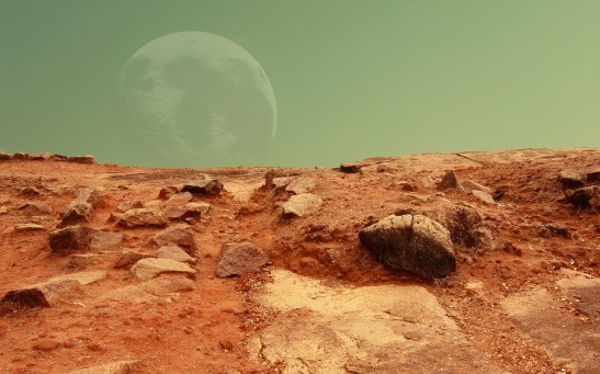 Mars colony set up 110 humans