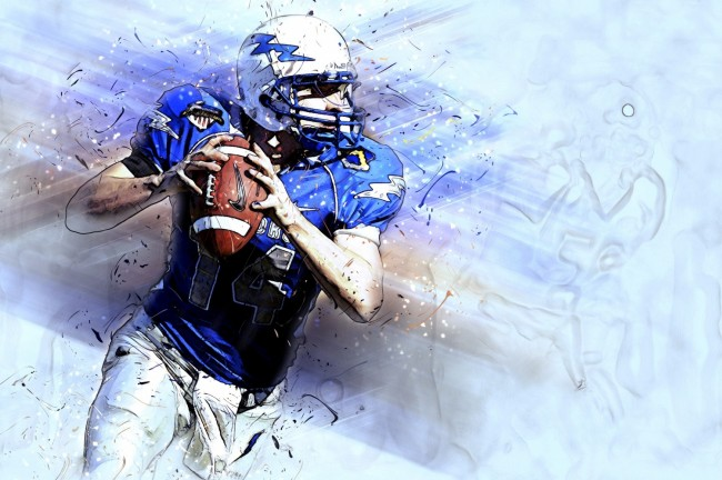 The Physics of Throwing a Football