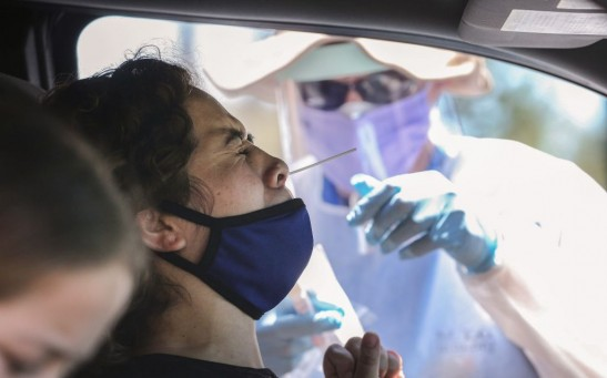 COVID-19 Testing Continues In LA County As CA Reports 12,500 New Cases In 24 Hours