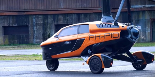 Three-Wheeled Flying Car Can Now Legally Operate in Europe Roads