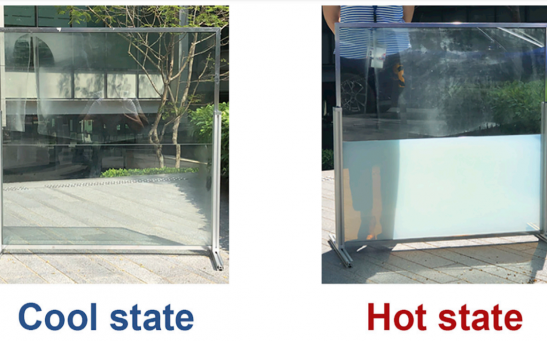 Energy-Saving 'Liquid Window' Blocks The Sun and Regulate Solar Transmission