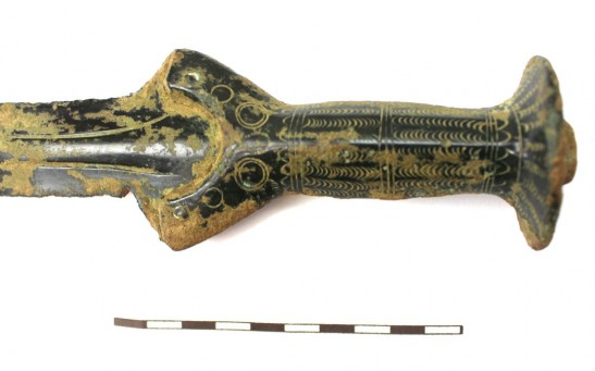 3,300-Year-Old Intricately Patterned Bronze Age Sword Found in the Czech Republic