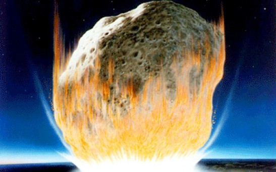 Asteroid Impact during the KT Event