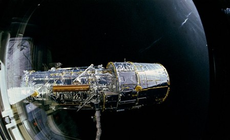 Science Times - Celebrating Success: NASA Shares Hubble Space Telescope's First Galactic Images After Long Repair