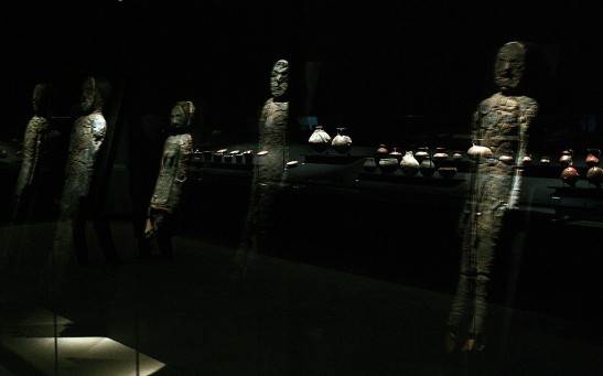 A group of Chinchorro mummies