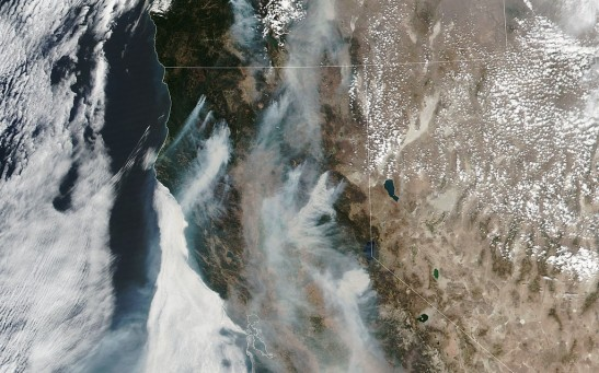 Caldor Fire: Satellite Captures Stunning Time-Lapse of the California Fire Near Lake Tahoe