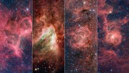 Four Famous Nebulae
