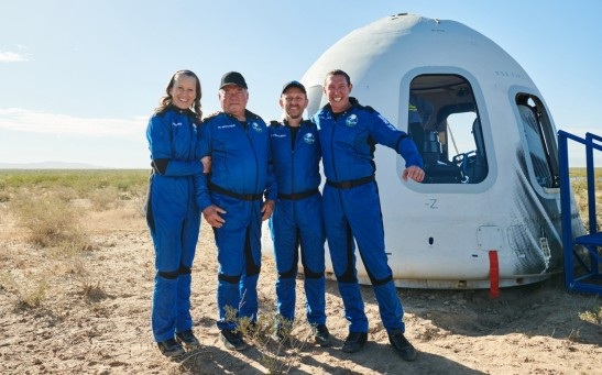 Blue Origin successfully and safely completes second human flight to space and back
