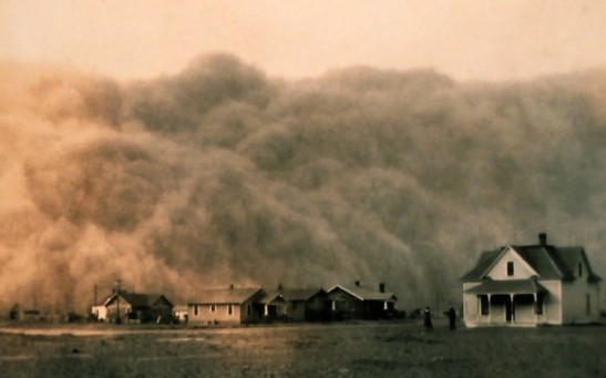 Dust Storm During the Drought of 1934